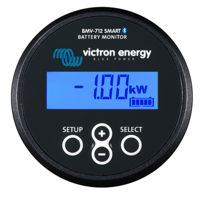 Battery Monitor BMV-712 BLACK Smart Retail