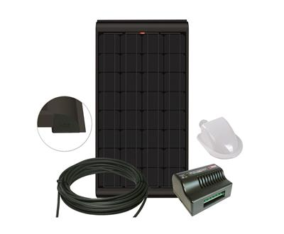 Blacksolar kit 155W m. MPPT SC320